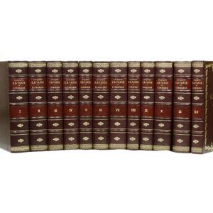Тарле Е. Собрание сочинений в 12 томах (кожаный переплет)