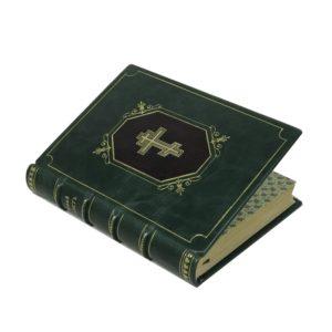 Новый завет Господа нашего Иисуса Христа.1912 (кожа)