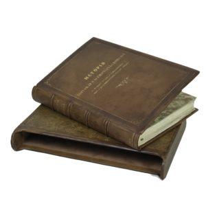 Энгельман И. История торговли и всемирных сношений, 1870 (кожа, футляр)