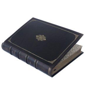 Рушэ и Комберусс. Основы геометрии, 1900 (кожа)