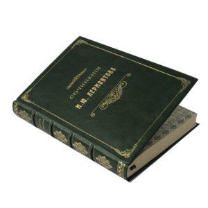 Сочинения Лермонтова. Полное собрание в одном томе, 1911 (кожа)
