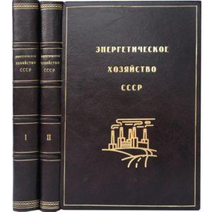 Энергетическое хозяйство СССР в 2 т, 1931 (кожа, футляр)