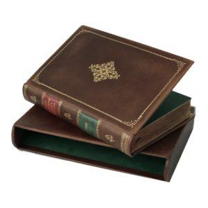 Месон И. Рассуждение о познании самого себя, 1820 (кожа, футляр)