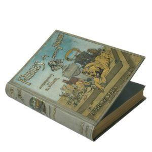 Лафонтен Басни, 1897 (на фр. яз, большой формат)