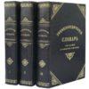 Энциклопедический словарь Филиппова в 3 т, 1901 (кожа)