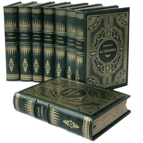 Пушкин А.С. Сочинения и письма, в 8 т, 1903 - 1906 (кожа)