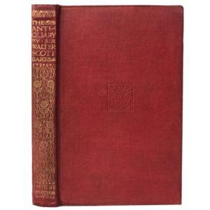 Скотт, Вальтер. Антиквар, 1913 (на англ. языке)