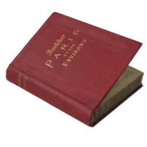 Бедекер К. Путеводитель по Парижу, 1911 (на фран. яз.)